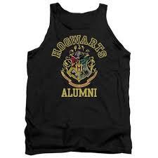 hogwarts alumni tank tank top harry potter hogwarts alumni tank top allposters ca