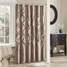 White And Brown Curtains Fabric Shower Curtain Blue And Brown White Stool White Rings
