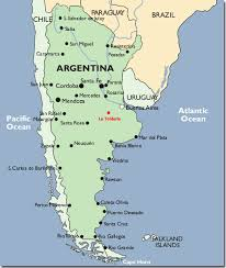 physical map of argentina buenos aires map