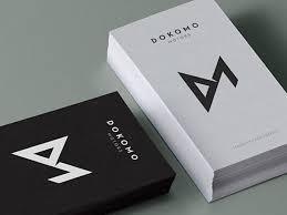 desain kartu nama yang bagus 5 desain kartu nama minimalis untuk anda printerous