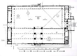 floor plan of mosque history of islamic architecture