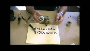 american standard kitchen faucet parts diagram inside american standard youtube