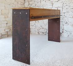 Oak Console Table With Drawers Pacha Design Handmade Contemporary Furniture U0026 Accessories