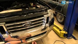 ford explorer front end parts how to install remove replace front grille 2006 10 ford explorer