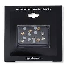 lost earring back sensitive earring back replacementfashion earrings 1