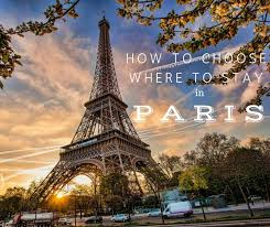 images of paris to choose where to stay in paris