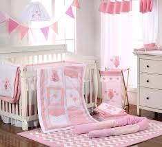 Pink Nursery Bedding Sets by Baby Bedding Sets Pink Bear Hearts 4 Pc Crib Bedding Set Baby