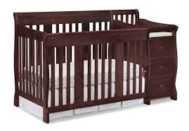 Cheap Convertible Crib Storkcraft Portofino 4 In 1 Convertible Crib And Changer Walmart