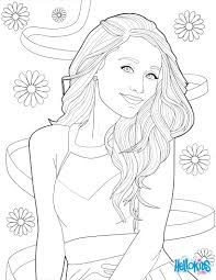 coloring picture of ariana grande coloring pages hellokids com