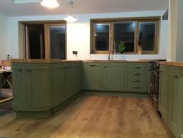 Farrow And Ball Painted Kitchen Cabinets Bespoke Painted Kitchen In Olive Farrow U0026 Ball Olive 13 Paint