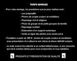prix d un mariage tarifs mariage photographe meilleur ouvrier de hervé