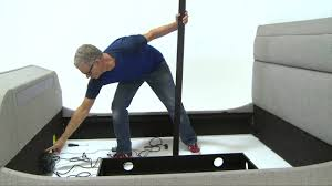 how to assemble the medford tv bed youtube