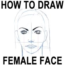 draw female faces correct proportions easy drawing
