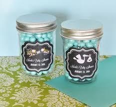 jar baby shower chalkboard baby shower personalized mini jars