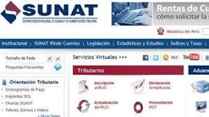 cronograma de sunat 2016 rus sunat establece el cronograma de vencimientos de obligaciones