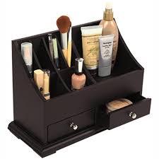 Bathroom Makeup Organizers Space Efficiency With Bathroom Countertop Organizer Wigandia