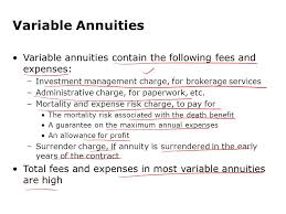 Expense Brokerage by Annuities And Individual Retirement Accounts Ppt