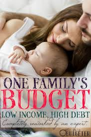 one family u0027s budget with low income and high debt completely