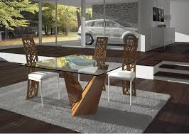 All Glass Dining Room Table 15 Shimmering Square Glass Dining Room Tables Home Design Lover