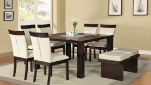 dining room sets for 6 dining room sets with 1 brown wood table and 6 brown