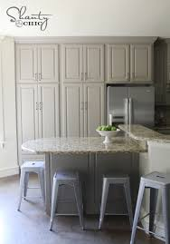 choosing kitchen cabinet paint colors choosing my battles and a paint color shanty 2 chic