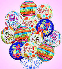mylar balloons air rangement get well mylar balloons from 1 800 flowers