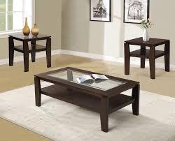 3 piece coffee table set red barrel studio golder 3 piece coffee table set reviews wayfair