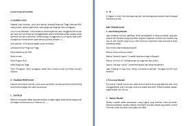 contoh membuat proposal riset contoh proposal penelitian sistematika penulisan contoh makalah docx