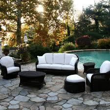 White Wicker Patio Chairs White Patio Furniture Sets Home Design Ideas And Pictures
