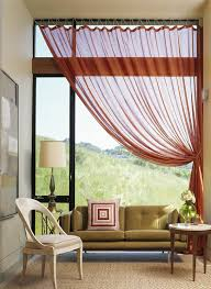 Bright Red Sheer Curtains Best 25 Window Sheers Ideas On Pinterest Window Curtain Designs