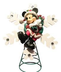 amazon com disney santa mickey mouse christmas tree topper new