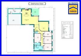 plan de maison 120m2 4 chambres plan maison en l 4 chambres plan plain pied 4 plan maison simple 4