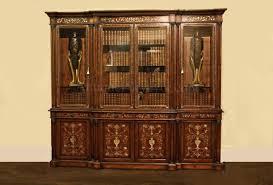 mahogany china cabinet furniture mahogany china cabinet breakfront with mother of pearl inlay