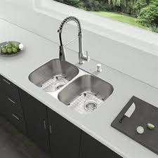 Kitchen Sink And Faucet Sets Best 25 Double Kitchen Sink Ideas On Pinterest Stainless Steel