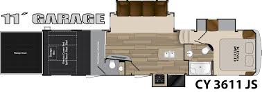 bunkhouse fifth wheel floor plans cyclone heartland rvs