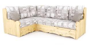 canapé en pin canapé d angle coffre style montagne gris trentino grenier alpin