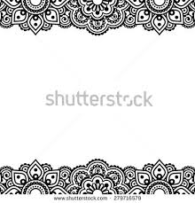 henna border stock images royalty free images u0026 vectors