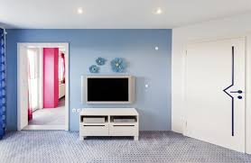 how to choose a wall color for a flat screen tv hunker