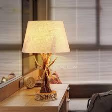 resin fixture fabric shade deer antler lamps