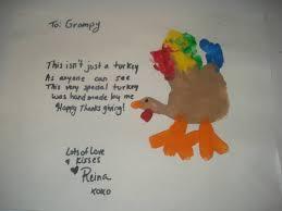 my dd s turkey handprint s w lil poem occasions and holidays