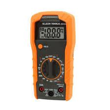 digital multimeter manual ranging 600v mm300 klein tools