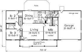 Slab Foundation Floor Plans 3 Bedroom 2 Bath Country House Plan Alp 09n9 Allplans Com
