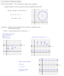 Graphing Ordered Pairs Worksheet Math Plane Locus Of Points