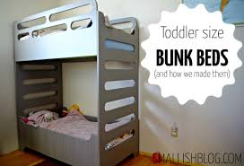 Bunks And Beds Our Unique Toddler Sized Bunk Beds Smallish