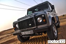 land rover desert 2013 land rover defender 90 review motoring middle east car
