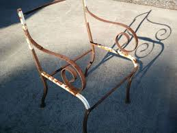 Replacement Chair Seats And Backs Seeking Advice On How To Replace Seats Backs On Iron Patio Chairs