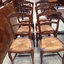 Antique Dining Room Sets Antique French Oak Dining Table And Chairs Spanish Parquetry