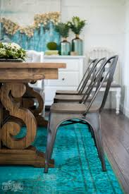 Teal Dining Room A Boho Farmhouse Dining Room Reveal One Room Challenge Week 6