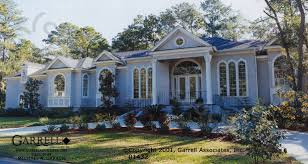 luxury ranch style house plans beau villa house plan house plans by garrell associates inc