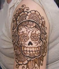 henna tattoo how much does it cost sugar skull henna tattoo on half sleeve